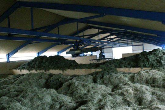 HSR, des techniques de séchage du foin adaptées aux cogénérations biogaz