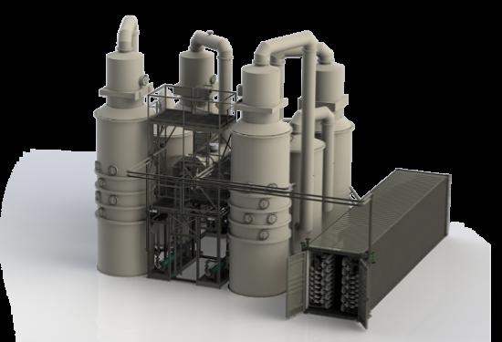 Byosis récupère l'azote ammoniacal des digestats par lavage acide de l'air