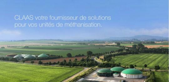 CLAAS votre fournisseur de solutions pour vos unités de méthanisation