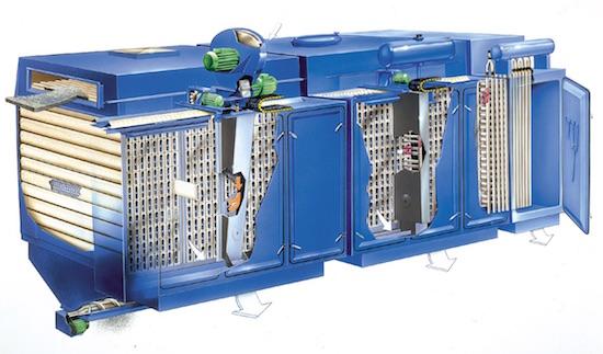 Tecfidis, fabricant français de filtres à manches compacts pour chaufferies