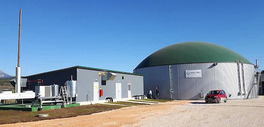 Weltec Biopower construit une unité de méthanisation pour un abattoir grec