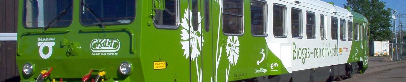 Train biogaz Suède