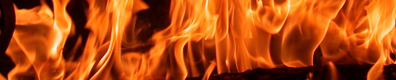 Combustion de bois bûche, photo Frédéric Douard