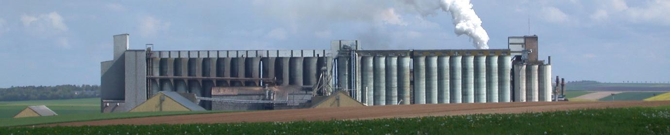 Usine de granulation agricole, photo Frédéric Douard