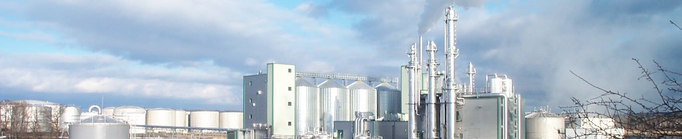 Usine de bioéthanol en Suède, photo Agroetanol AB