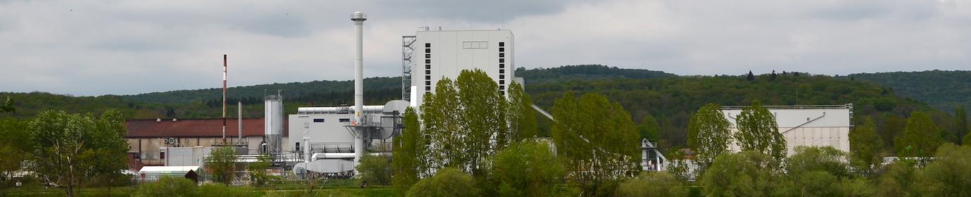 La centrale biomasse de Novillars, photo Frédéric Douard