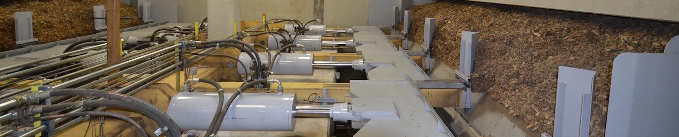 Extracteurs de silo à bois Compte R., photo Frédéric Douard