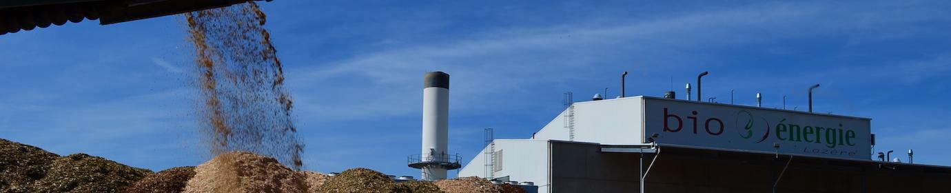 La centrale biomasse de Mende, photo Frédéric Douard