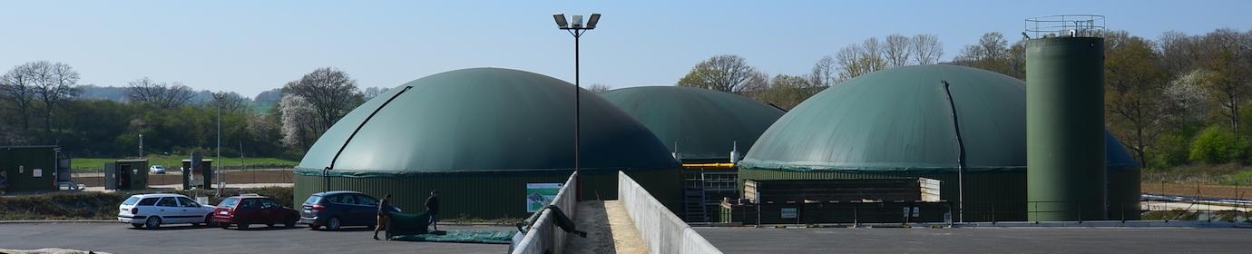 Usine de biométhane d'Epaux-Bézu, photo Frédéric Douard