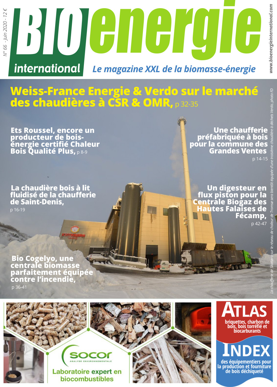 Bioénergie International n°66 – juin 2020