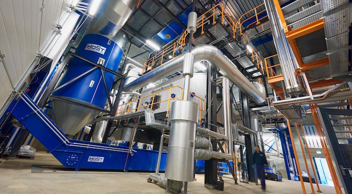La centrale biomasse de Strijp-Eindhoven, construite et exploitée par HoSt