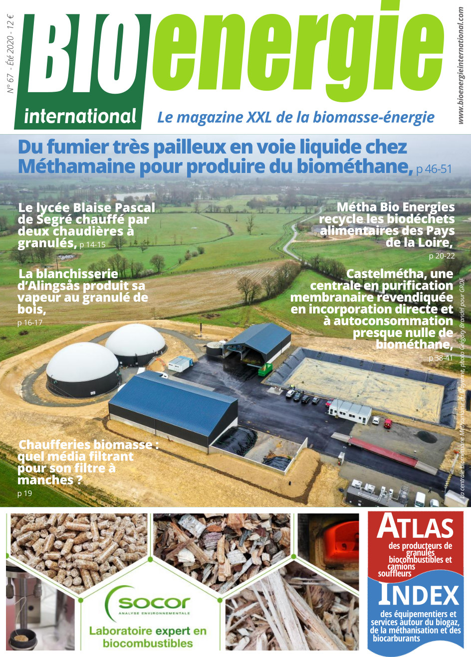 Bioénergie International n°67 – été 2020