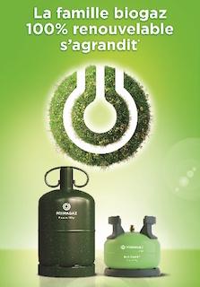 Primagaz lance la première bouteille de gaz 13 kg avec 20 % de biopropane