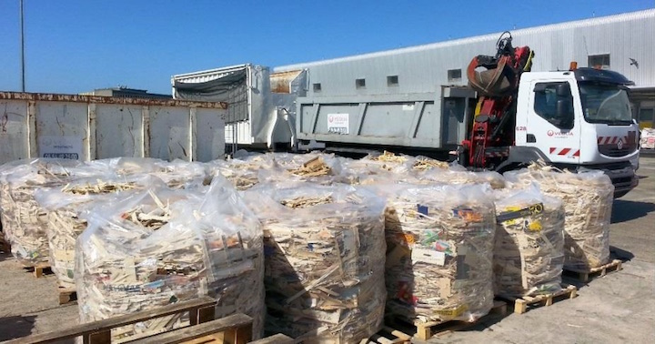 Le houssage, nouvelle pratique pour le recyclage des emballages légers en bois