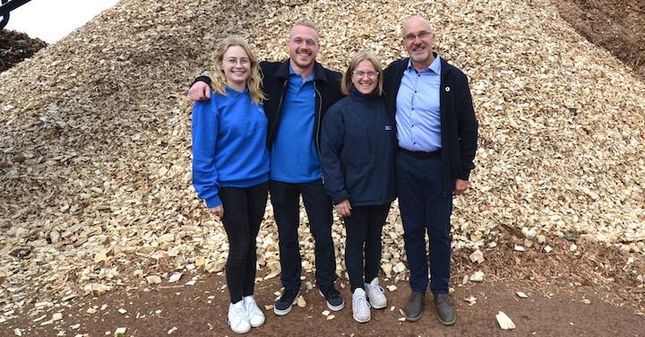 Ets Roussel, encore un producteur de bois-énergie certifié Chaleur Bois Qualité Plus