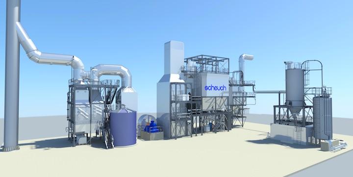 La dénitrification SCR fait son entrée dans les chaufferies biomasse