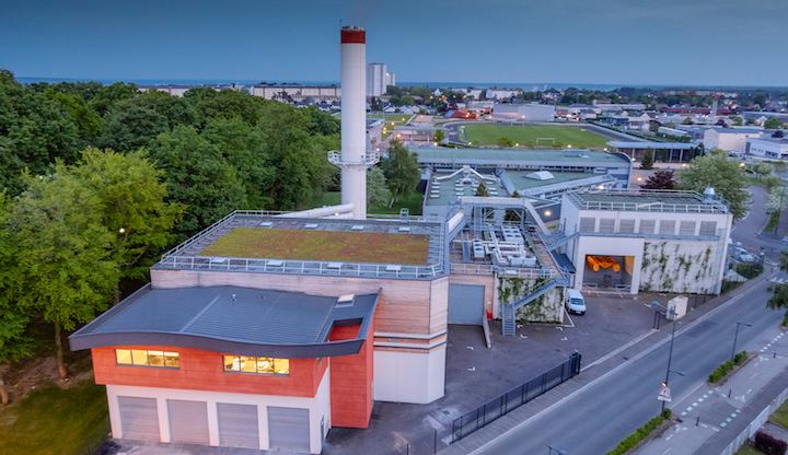 La chaufferie biomasse de Canteleu dotée de chaudières polycombustibles