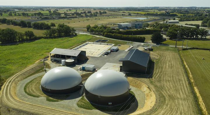 Inauguration de la première centrale biométhane du département de Mayenne