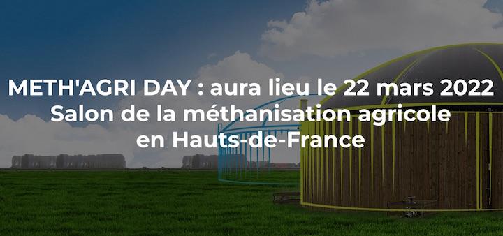 La deuxième édition du Méth'agri Day Hauts de France reportée au 22 mars 2022