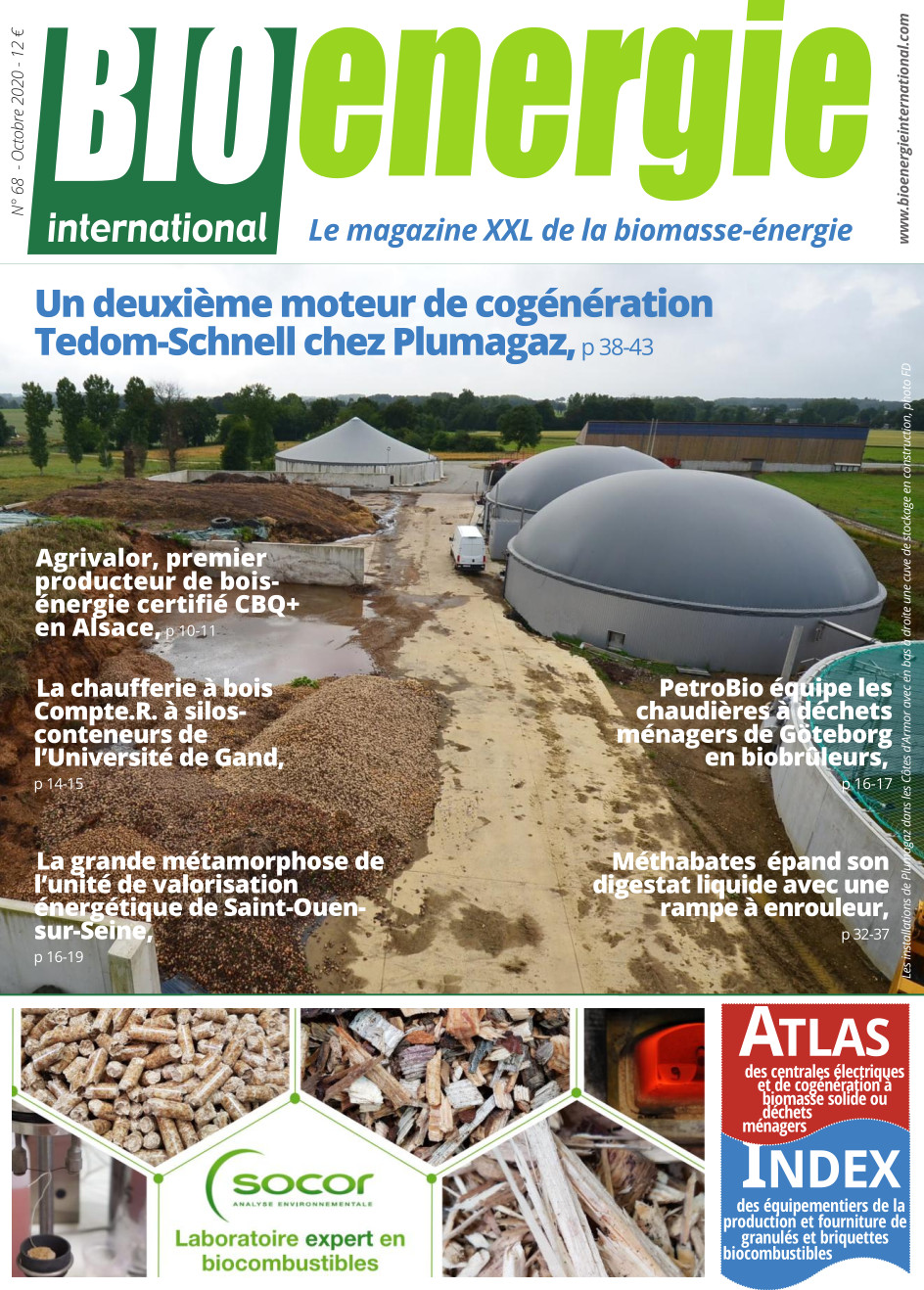 Bioénergie International n°68 – octobre 2020
