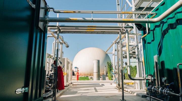 L'épuration de biogaz en biométhane et la récupération de CO2 by Clarke Energy
