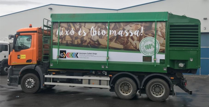 Les caissons souffleurs de bois-énergie Cubas Segre arrivent en France