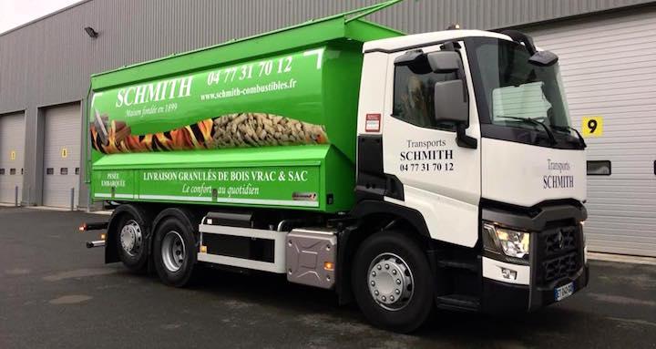 Atlas 2020 des 309 distributeurs de granulés ou pellets de bois par camions souffleurs