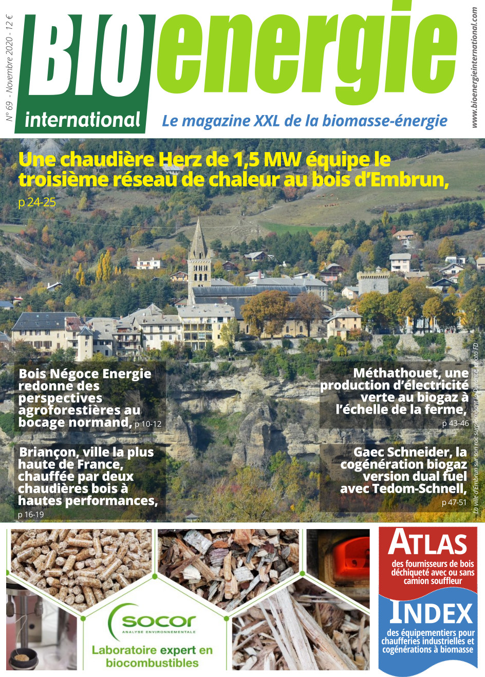 Bioénergie International n°69 – novembre 2020