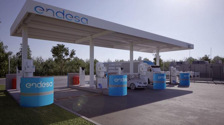 Endesa va distribuer le biométhane de la STEP de Valenton dans ses stations BioGNV