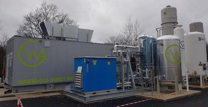 La décharge de Saint-Palais injecte du biométhane dans le réseau de gaz naturel