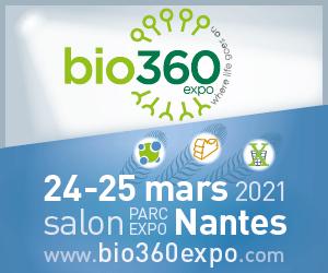 Bio360 Expo, le salon du biogaz, de la biomasse et du waste-to-x, le 24 et 25 mars 2021 à Nantes