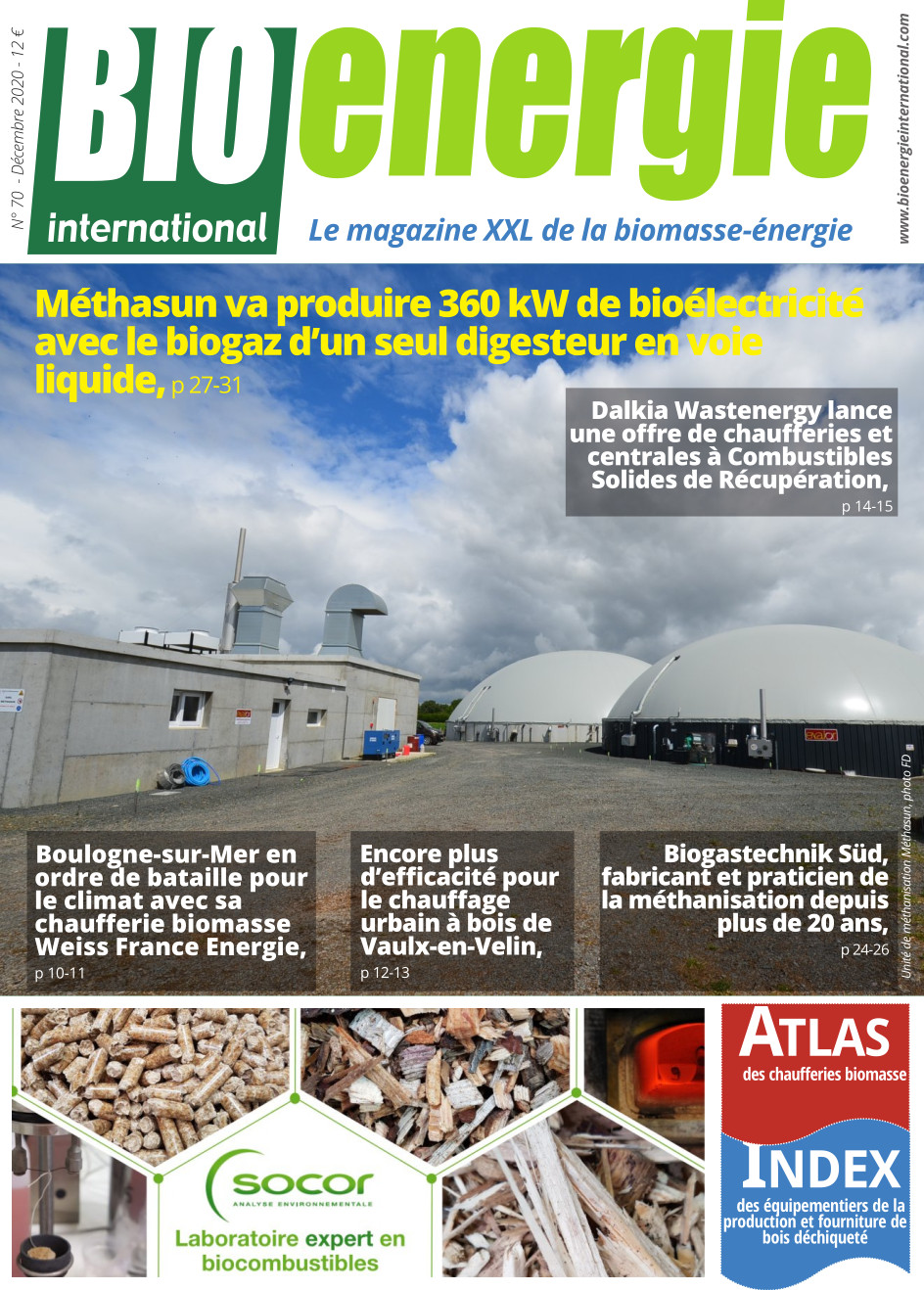 Bioénergie International n°70 – décembre 2020