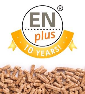 La certification mondiale pour granulés de bois ENplus® fête ses 10 ans