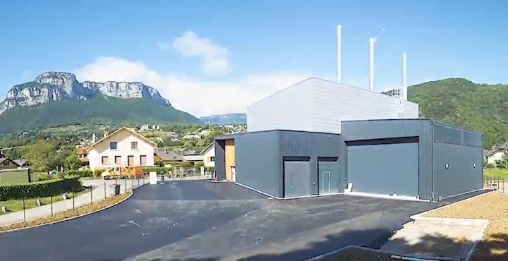 Le réseau de chaleur de la commune de Barby en Savoie est alimenté à 95% par le bois