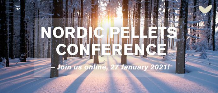 La Nordic Pellets Conference 2021 se tiendra en ligne le 27 janvier