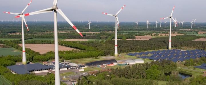 L'unité de méthanisation en voie sèche discontinue de Saerbeck en Allemagne