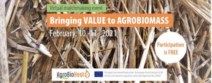 Rencontres B2B en ligne gratuite sur les agrocombustibles les 10 & 11 février 2021