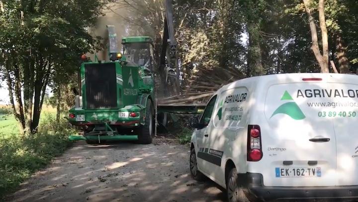 Agrivalor, premier producteur de bois-énergie certifié CBQ+ en Alsace