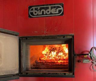 Séchage de maïs avec une chaudière à bois au Gaec Coladan – Loiret