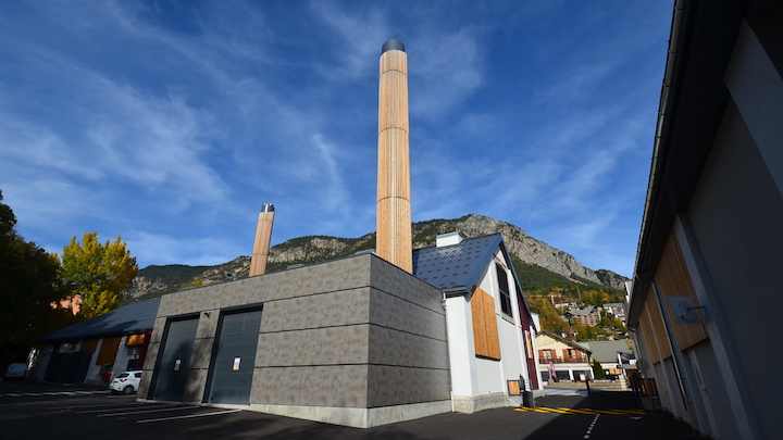 Briançon, ville la plus haute de France, chauffée par deux chaudières bois à hautes performances