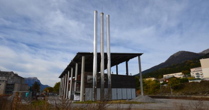 Deux électrofiltres APF à la chaufferie biomasse Gare d'Embrun