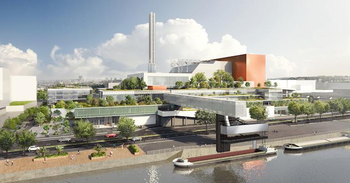 La grande métamorphose de l'unité de valorisation énergétique de Saint-Ouen-sur-Seine