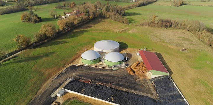 Chand'Energies alimente six communes bressannes en biométhane