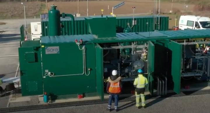Un poste de rebours de gaz en Ile-de-France pour absorber le biométhane toute l'année