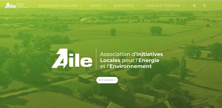 Biogaz, bois-énergie, l'association AILE inaugure son nouveau site internet