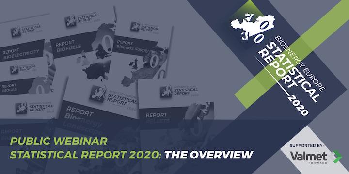 26 janvier 2021, webinaire sur les statistiques européennes de la bioénergie