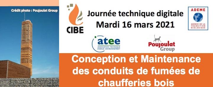 16 mars 2021, la conception et maintenance des conduits de fumées de chaufferies bois
