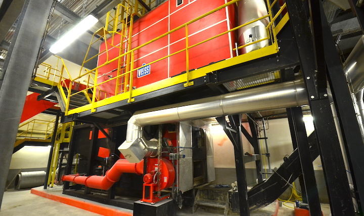 Boulogne-sur-Mer en ordre de bataille pour le climat avec sa chaufferie biomasse