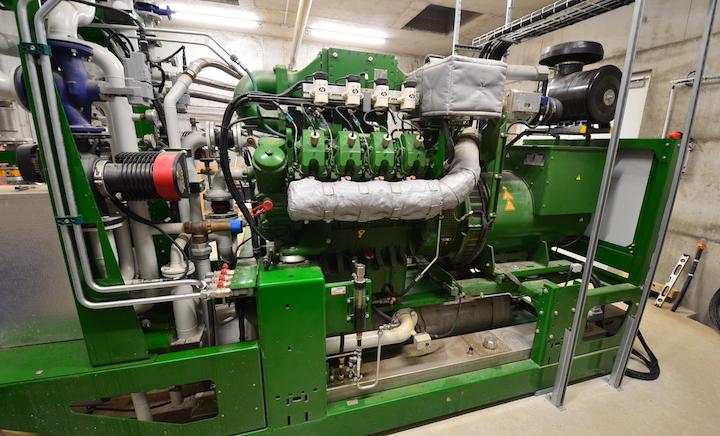 Méthasun va produire 360 kW d'électricité avec le biogaz d'un seul digesteur en voie liquide