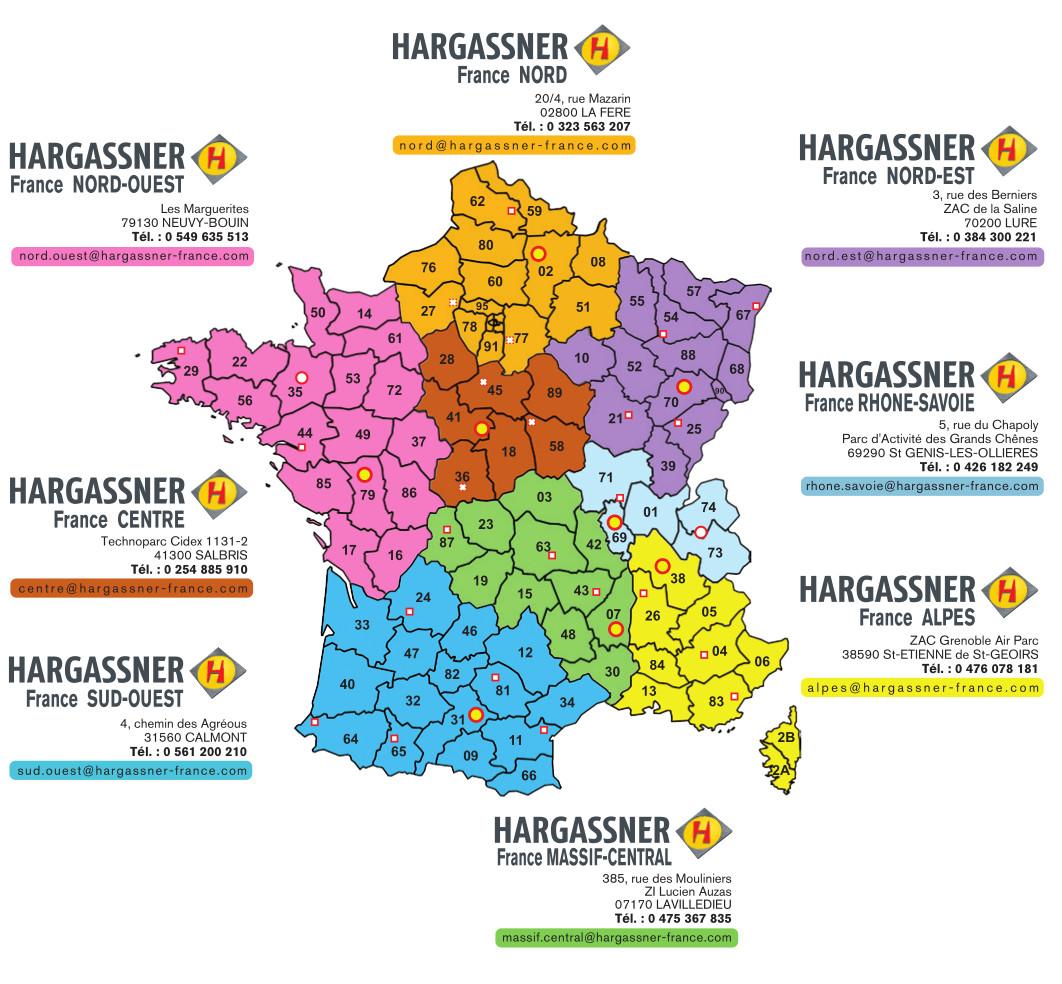 Carte Holding Hargassner